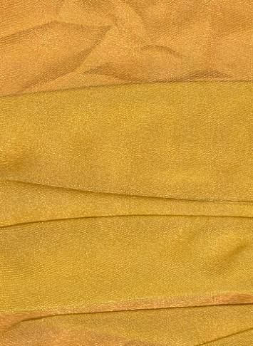 Gold Sparkle Organza Fabric