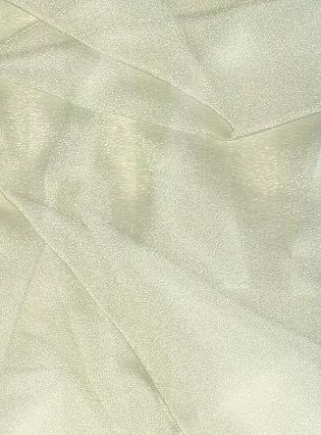 Cream Sparkle Organza Fabric