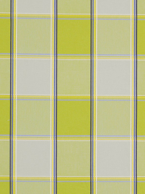 BOTANICA PLAID LIME