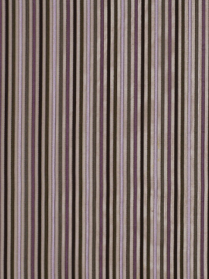 SHEER STRIPES PLUM