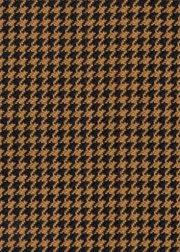Hunt Club Houndstooth Black D2123