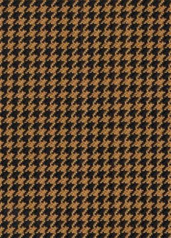 Hunt Club Houndstooth Camel Black D2123