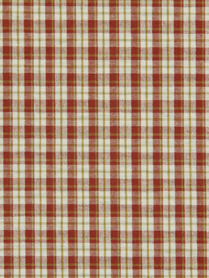 PLAID TOUCH BARN RED