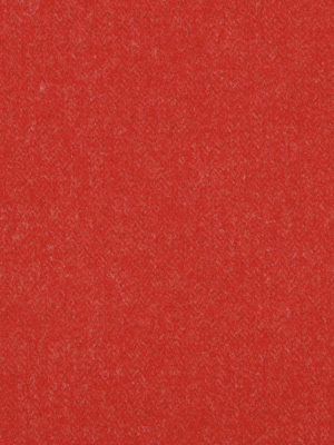 WOOL CHEVRON LACQUER RED
