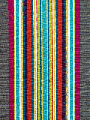 VILLA STRIPE CHARCOAL