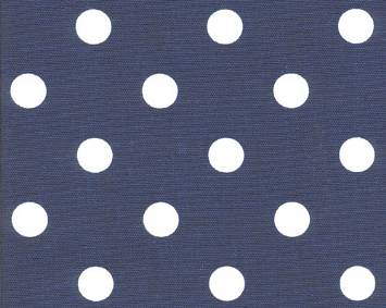 Polka Dot Blue/White