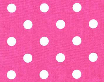 Polka Dot Candy Pink/White