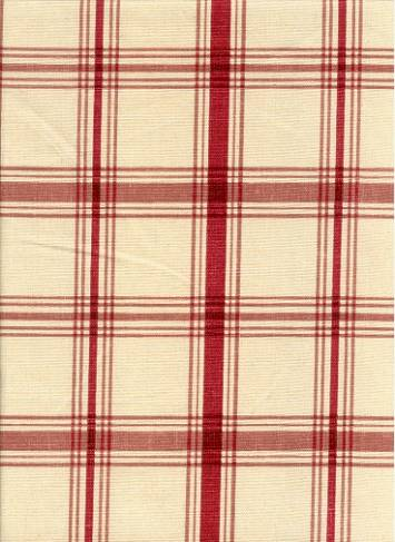 Pantry Plaid Crimson