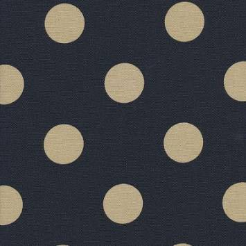 Polka Dot Black and Tan Outdoor