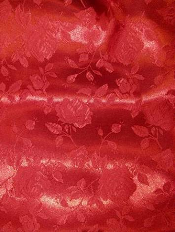 Red j5 Eversong Brocade Fabric