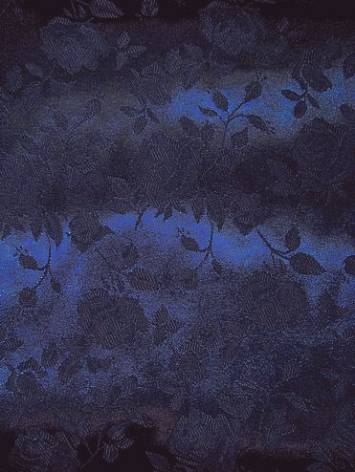 Navy j35 Eversong Brocade Fabric