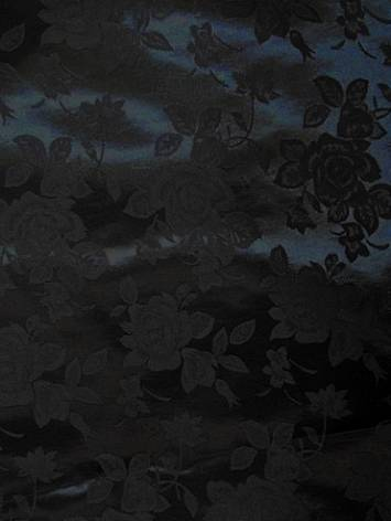 Black j12 Eversong Brocade Fabric