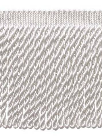 "White 6"" Long Bullion Fringe"