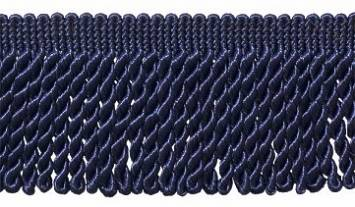 "Navy Blue 3"" Long Bullion Fringe"