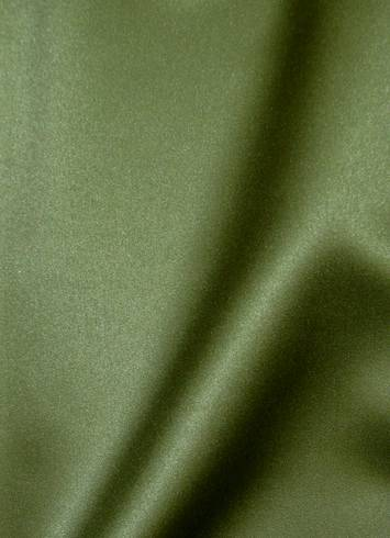 Loden Green Duchess Satin Fabric