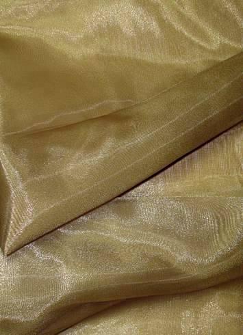 Bronze Crystal Organza Party Decorating Fabric