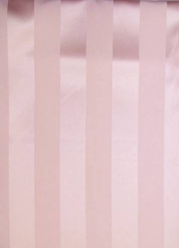 Ice Pink Satin Stripe