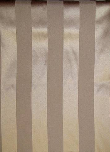 Swiss Coffee Satin Stripe