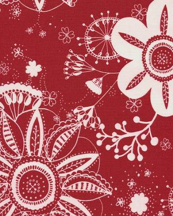 Flower Power Red