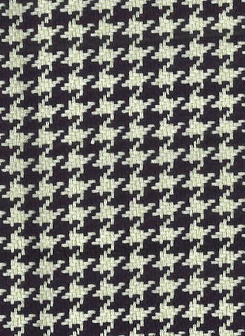 HOUNDSTOOTH BLACK/ANTIQUE WHITE D2286