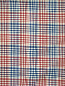 Sahara Plaid Adobe Red