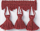 Red Tassle Fringe