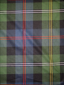 Plaid Moors Navy Red