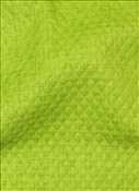Baja Linen Embossed Lime