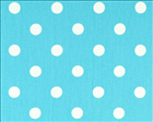 Polka Dot Girly Blue/Twill