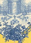Garden Toile Yellow