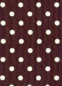 25070-10 Dots Brown