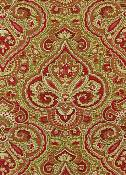 Paris Paisley Vintage Red