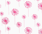 Dandelion White/Candy Pink
