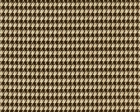 Houndstooth Chocolate/Linen