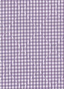 COUNTRY GINGHAM LILAC JAQ114