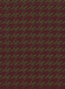 HOUNDSTOOTH BURGUNDY D2130