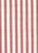 TAFFETA TICKING  RED TAF5