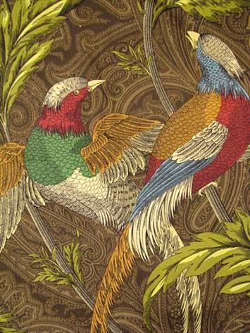 Pheasant Hunt Leather P Kaufmann Fabric