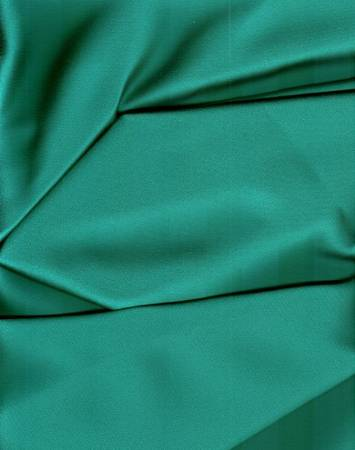Crepe Teal Dutchess Satin