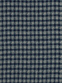 PLAID MAT PRUSSIAN