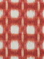 PLAID IKAT CHERRY