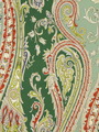 FUN PAISLEY BILLIARD GREEN