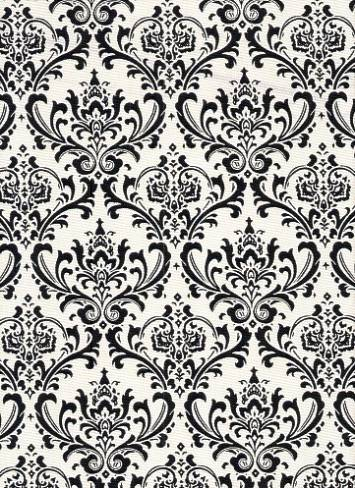 Madison Black White Fabric By Color