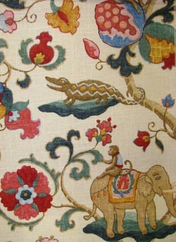 Uzbek Jewel P Kaufmann Fabric