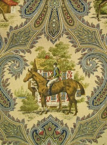 Equinox Navy P Kaufmann Fabric