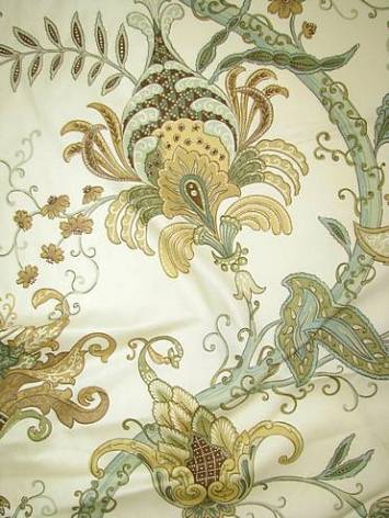 Pontoise Mimosa Fabric By Color