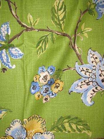 Les Fauves Grasslands Fabric By Color