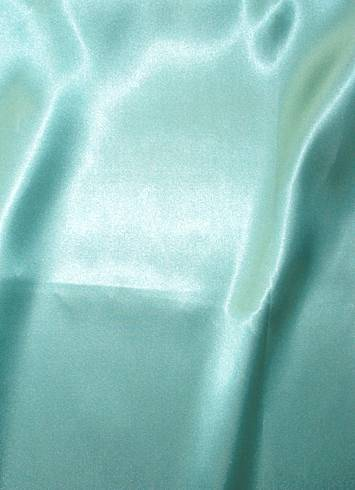 Slipper Satin Tiffany Blue Party Decorating Fabric